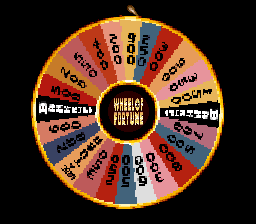 Wheel of Fortune ingame screenshot