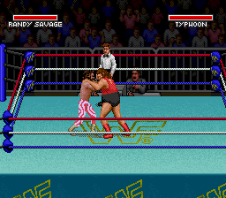 WWF Super WrestleMania ingame screenshot
