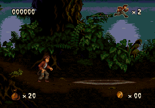 Pitfall - The Mayan Adventure ingame screenshot