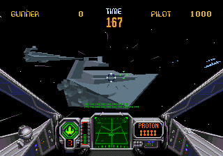 Star Wars Arcade ingame screenshot