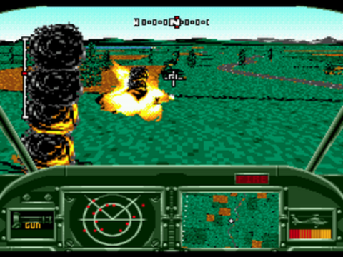 AH-3 Thunderstrike ingame screenshot