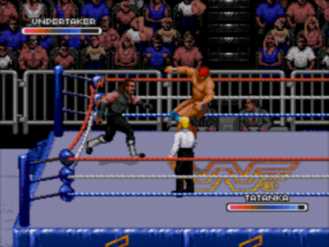 WWF Rage in the Cage ingame screenshot