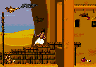 Aladdin ingame screenshot