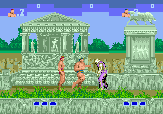 Altered Beast ingame screenshot