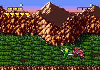 Battletoads ingame screenshot