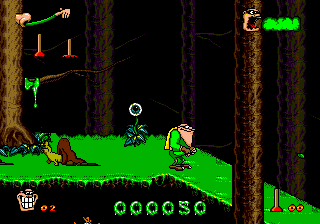 Boogerman - A Pick and Flick Adventure ingame screenshot