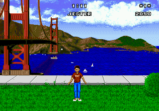 California Games ingame screenshot