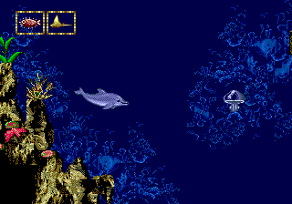 Ecco Jr. ingame screenshot