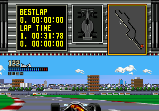 Ferrari Grand Prix Challenge ingame screenshot