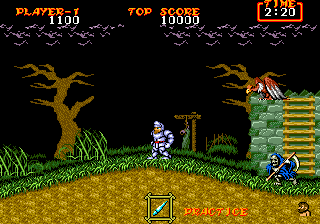 Ghouls 'n Ghosts ingame screenshot