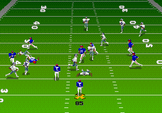 Madden NFL 95 ingame screenshot