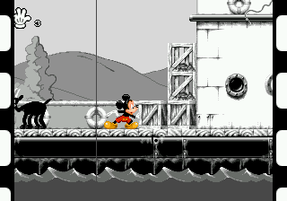 Mickey Mania - The Timeless Adventures of Mickey Mouse ingame screenshot