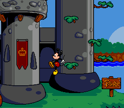 Mickey's Ultimate Challenge ingame screenshot