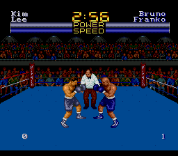 Muhammad Ali Heavyweight Boxing ingame screenshot