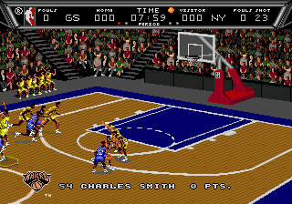 NBA Action '94 ingame screenshot