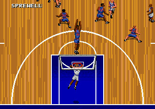 NBA Action '95 Starring David Robinson ingame screenshot