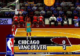 NBA Hang Time ingame screenshot