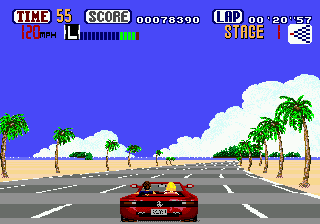 OutRun ingame screenshot