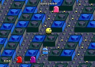 Pac-Mania ingame screenshot