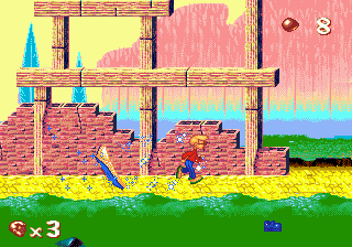 Pagemaster, The ingame screenshot