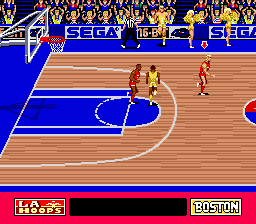 Pat Riley Basketball ingame screenshot