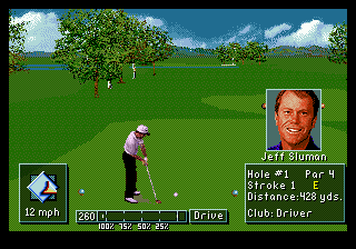 PGA Tour Golf III ingame screenshot