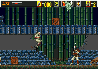 Revenge of Shinobi, The ingame screenshot