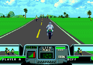 Road Rash 3 ingame screenshot