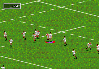 Rugby World Cup 95 ingame screenshot