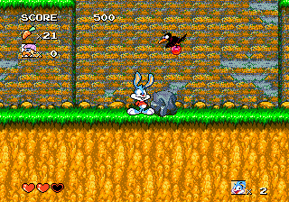 Tiny Toon Adventures - Buster's Hidden Treasure ingame screenshot
