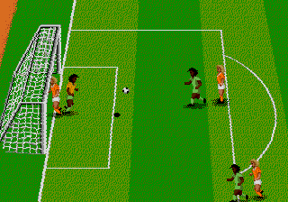 World Championship Soccer II ingame screenshot