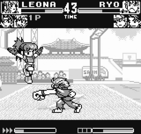 of Fighters R-1 - Pocket Fighting Series - SNK Neo Geo Pocket online