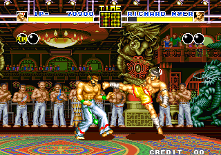 Fatal Fury 1 : King of Fighters ingame screenshot