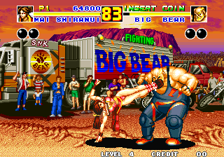 Fatal Fury 2 ingame screenshot