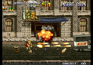 Metal Slug 4 ingame screenshot