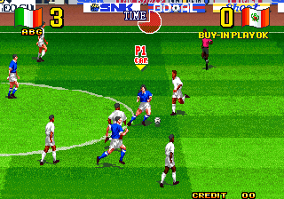 Neo Geo Cup '98 : The Road to the Victory ingame screenshot
