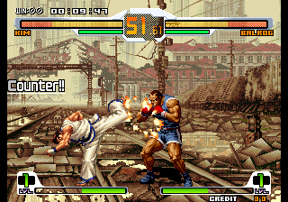 SNK vs. Capcom : SVC Chaos ingame screenshot