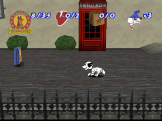 101 Dalmatians II - Patch's London Adventure ingame screenshot