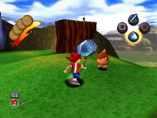 Ape Escape ingame screenshot
