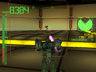 Armored Core - Project Phantasma ingame screenshot
