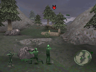Army Men - World War - Land, Sea, Air ingame screenshot