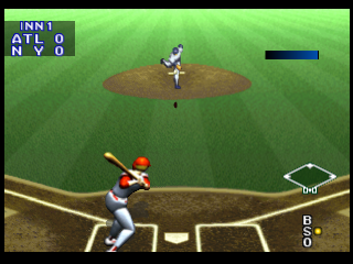 Bases Loaded '96 - Double Header ingame screenshot