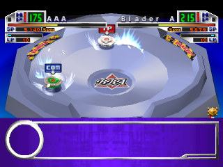 Beyblade ingame screenshot