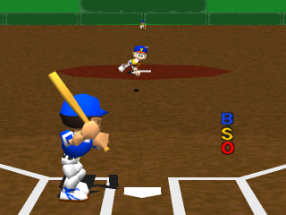 Big League Slugger Baseball ingame screenshot