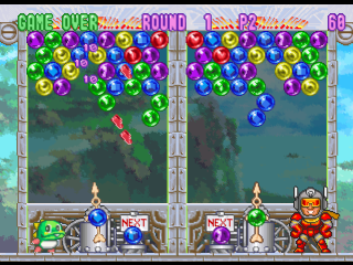 Bust-A-Move 3 DX - Bust-A-Move '99 ingame screenshot