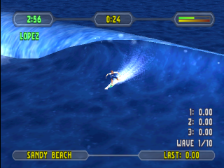 Championship Surfer ingame screenshot