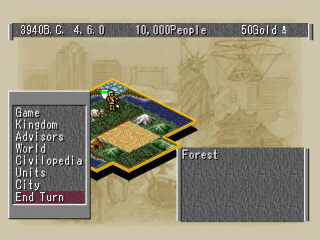 Civilization II ingame screenshot