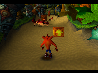 Crash Bandicoot ingame screenshot