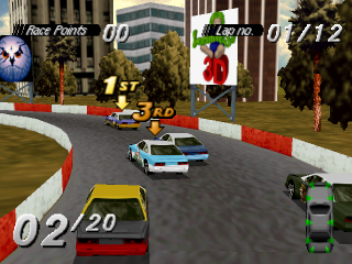 Destruction Derby ingame screenshot