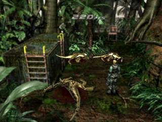 Dino Crisis 2 ingame screenshot